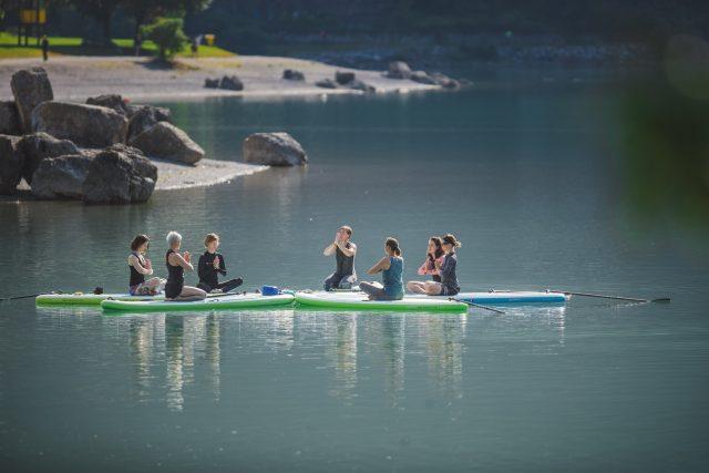 Paganella Turismo - SUP e canoa