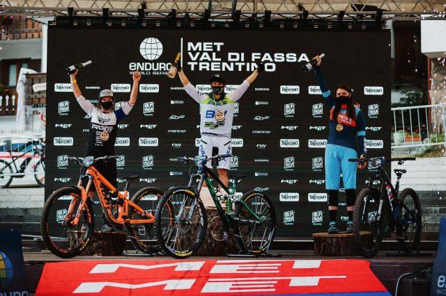 EWS Val di Fassa round 2 report - podio women