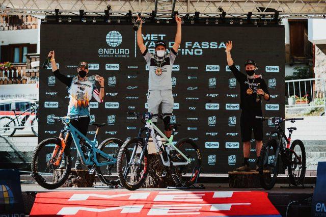 EWS Val di Fassa round 2 report - podio men