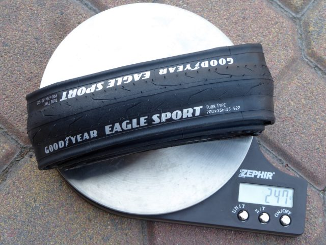 good year eagle sport il test