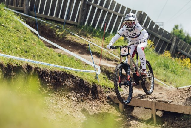 World Cup DH Leogang 2021 - Camille Balanche