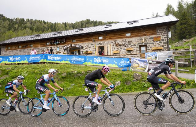 Team Colpack Ballan, la vittoria al Giro U23