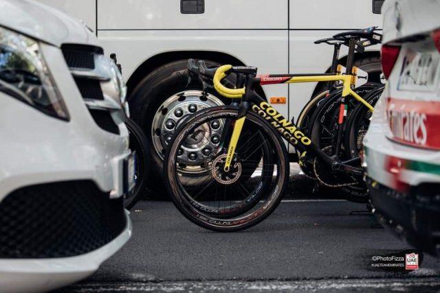 La tecnica di alcune bici che vediamo al Tour
