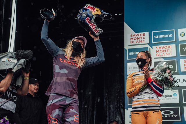 World Cup DH Les Gets 2021 - Seagrave vittoria