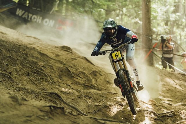 World Cup DH Maribor - Benoit Coulanges