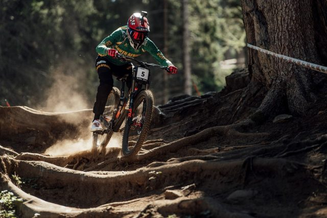 Greg Minnaar - Val di Sole 2021 gara 01