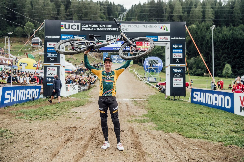 Greg Minnaar - Val di Sole 2021 - trionfo