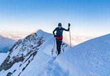 Manuel Merillas sul Monte Bianco. Foto di Giacomo Meneghello