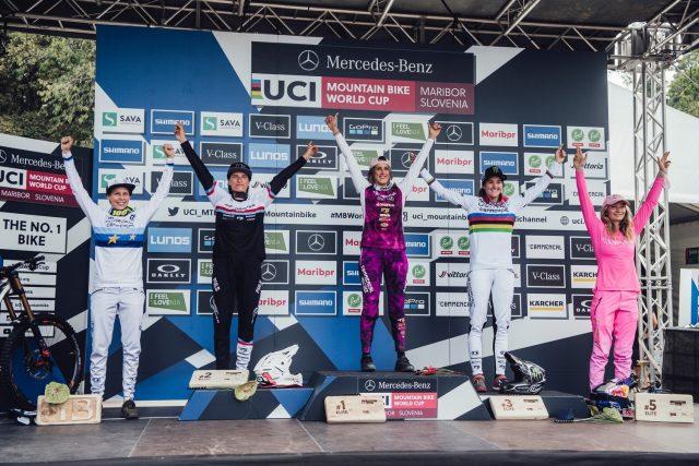 Maribor 2021 - podio femminile