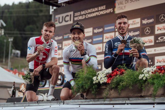 Val di Sole 2021 - podio XCO Elite Men