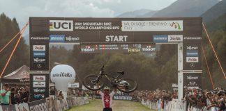 Nino Schurter - arrivo Val di Sole 2021