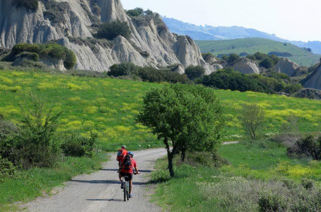 Basilicata a piedi e in mountain-bike