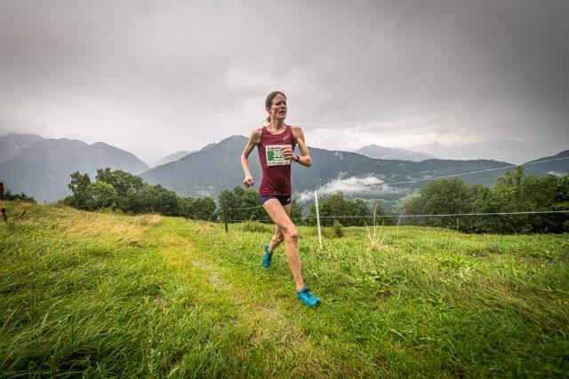 Andrea MAyr altra fortissima atleta presente alla gara