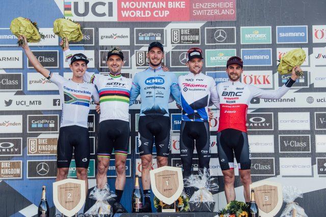 Lenzerheide - podio xco elite men