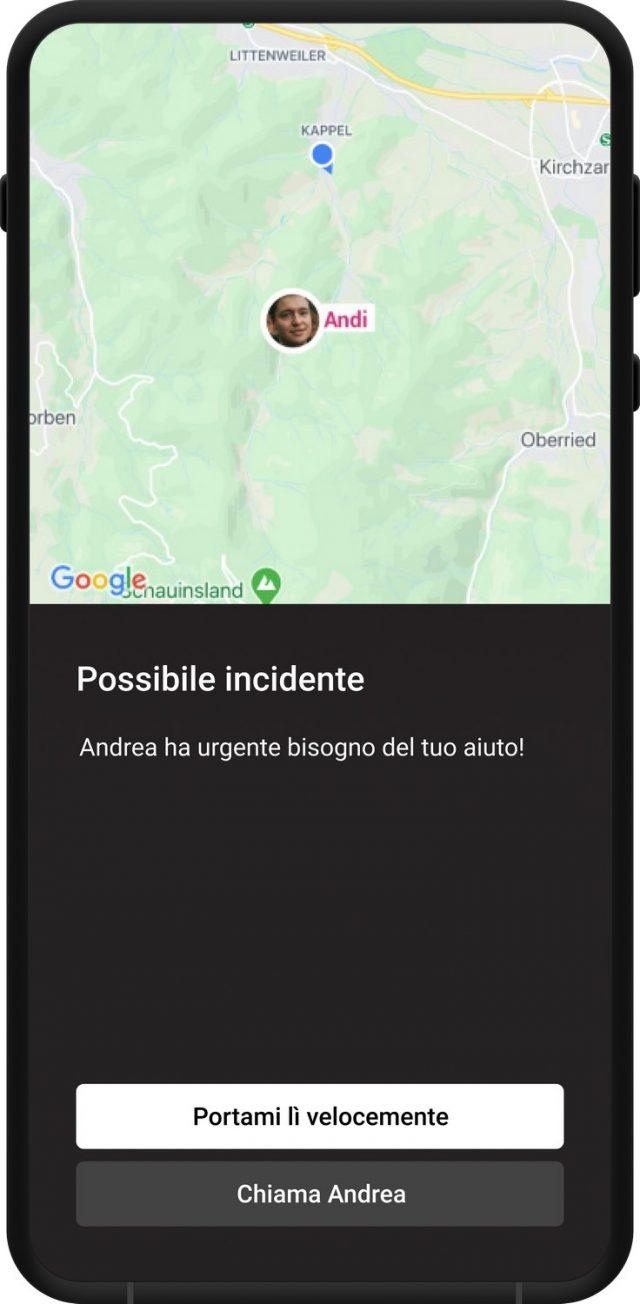 Tocsen crash sensor App - 05