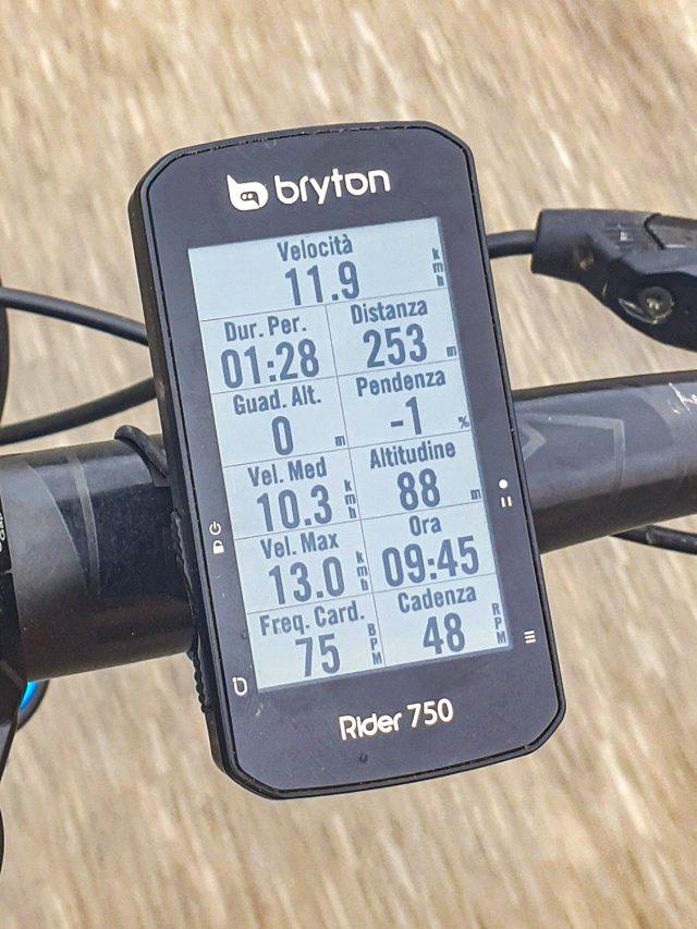 Bryton Rider 750 - 07