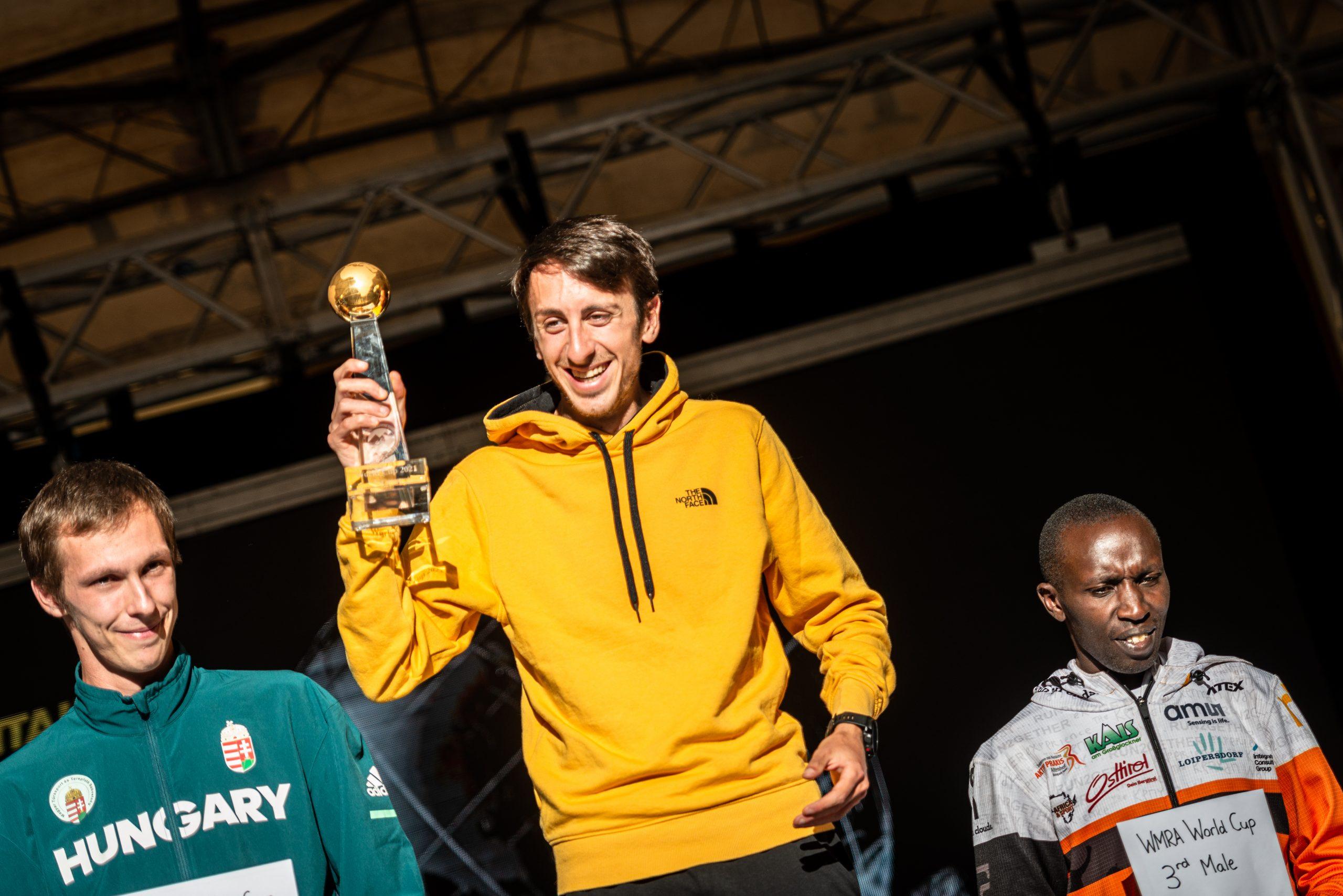 Henri Aymond vincitore strepitoso, sia della Chiavenna-Lagunc Vertical, che di quella assoluta!
