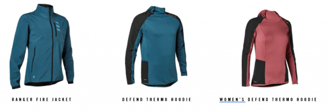 Fox giacche Fire Thermo Hoodie
