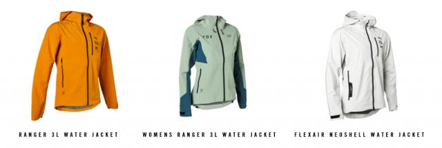 Fox giacche Water 3L