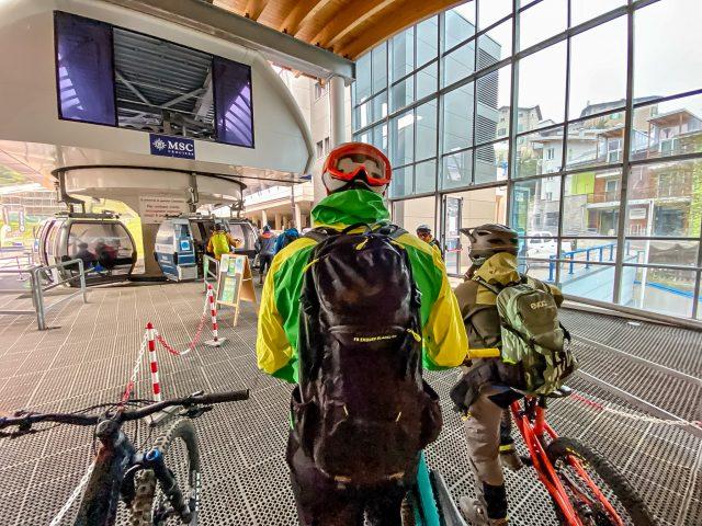 MTB Talks Dolomiti Paganella Bike - cabinovia Andalo