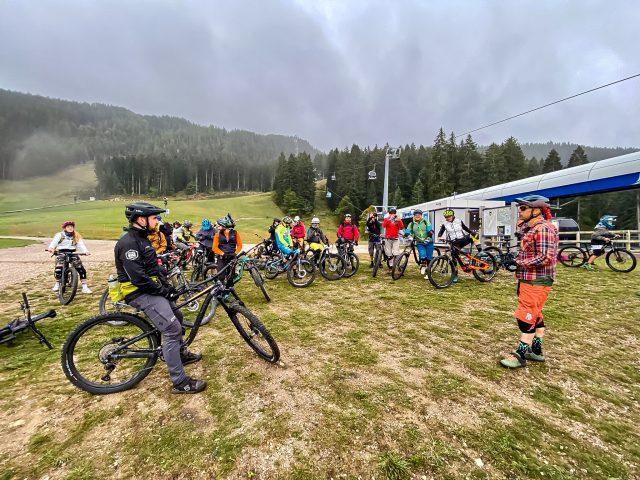 MTB Talks Dolomiti Paganella Bike - cabinovia Andalo intermedio
