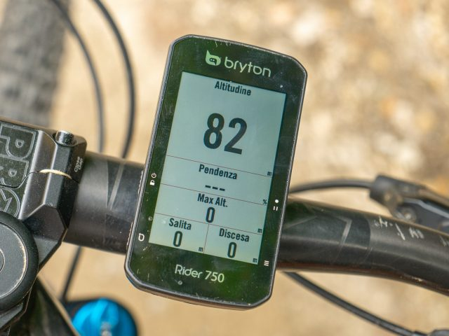 Bryton Rider 750 - 06