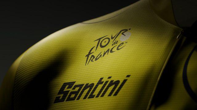 Santini è partner ufficiale del Tour de France