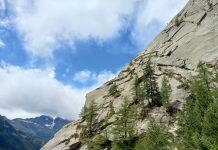 arrampicata in fessura