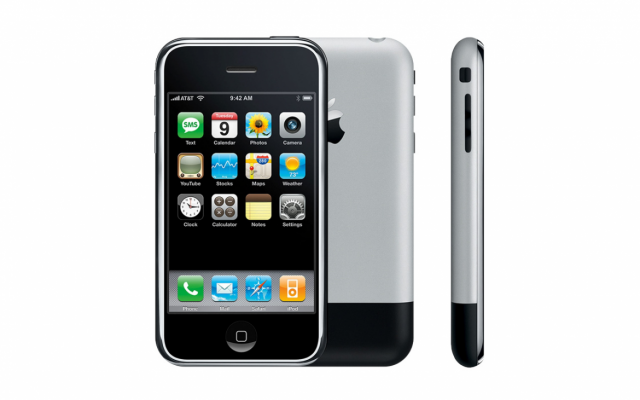 iPhone 2007 - smartphone
