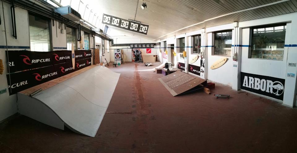 Il nuovo surfskate spot di Binasco