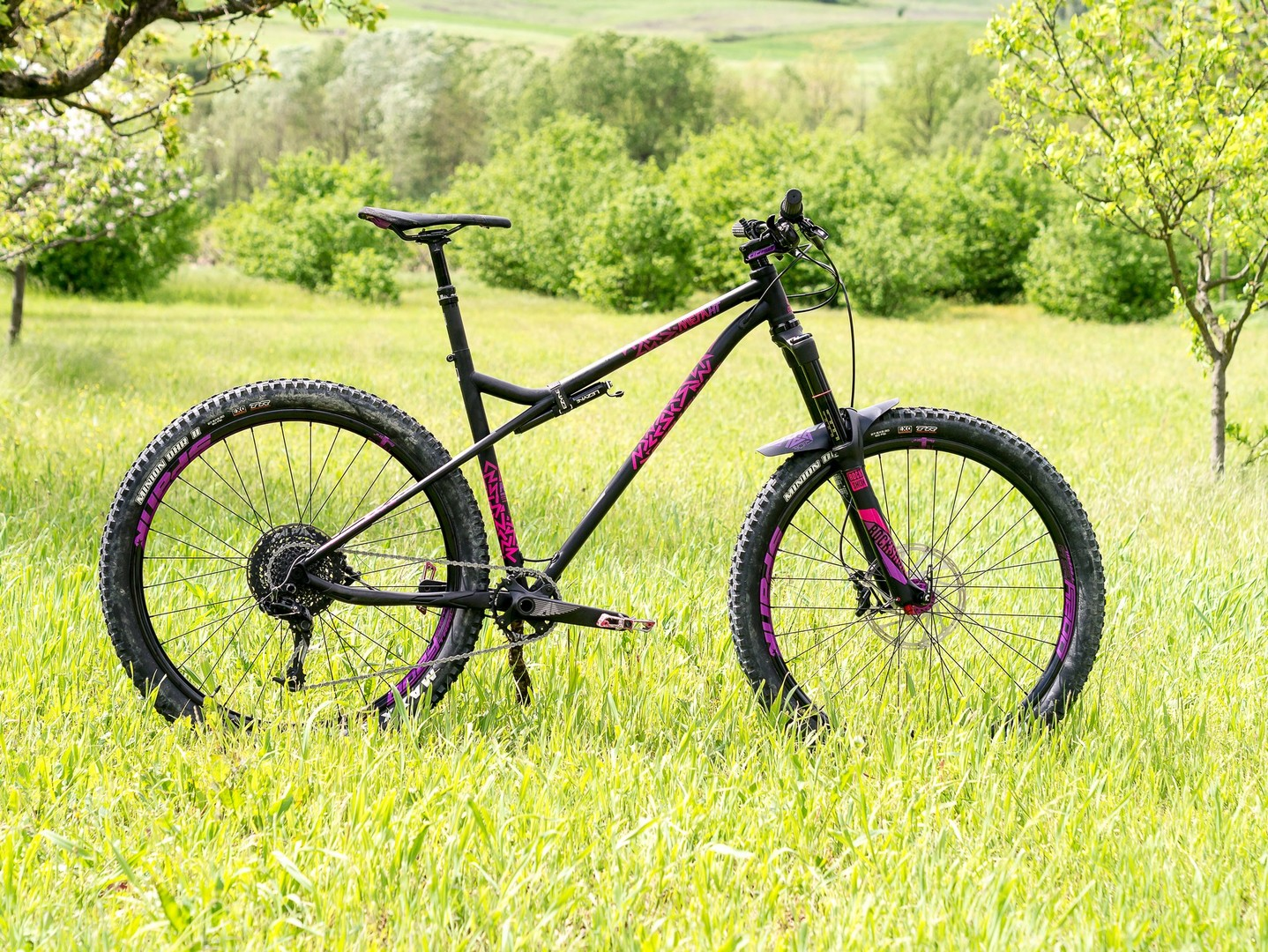 Commencal Meta HT AM CrMo 650B Purple - bici
