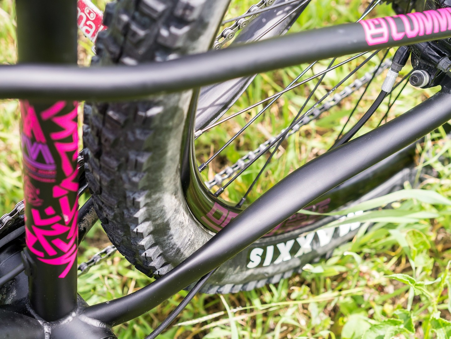 Commencal Meta HT AM CrMo 650B Purple - foderi bassi