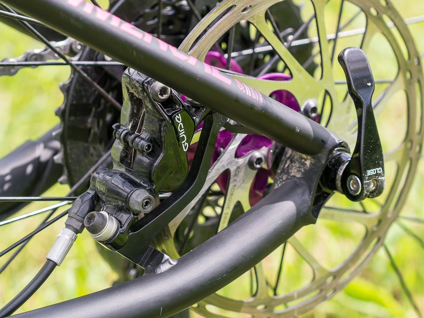 Commencal Meta HT AM CrMo 650B Purple - pinza freno