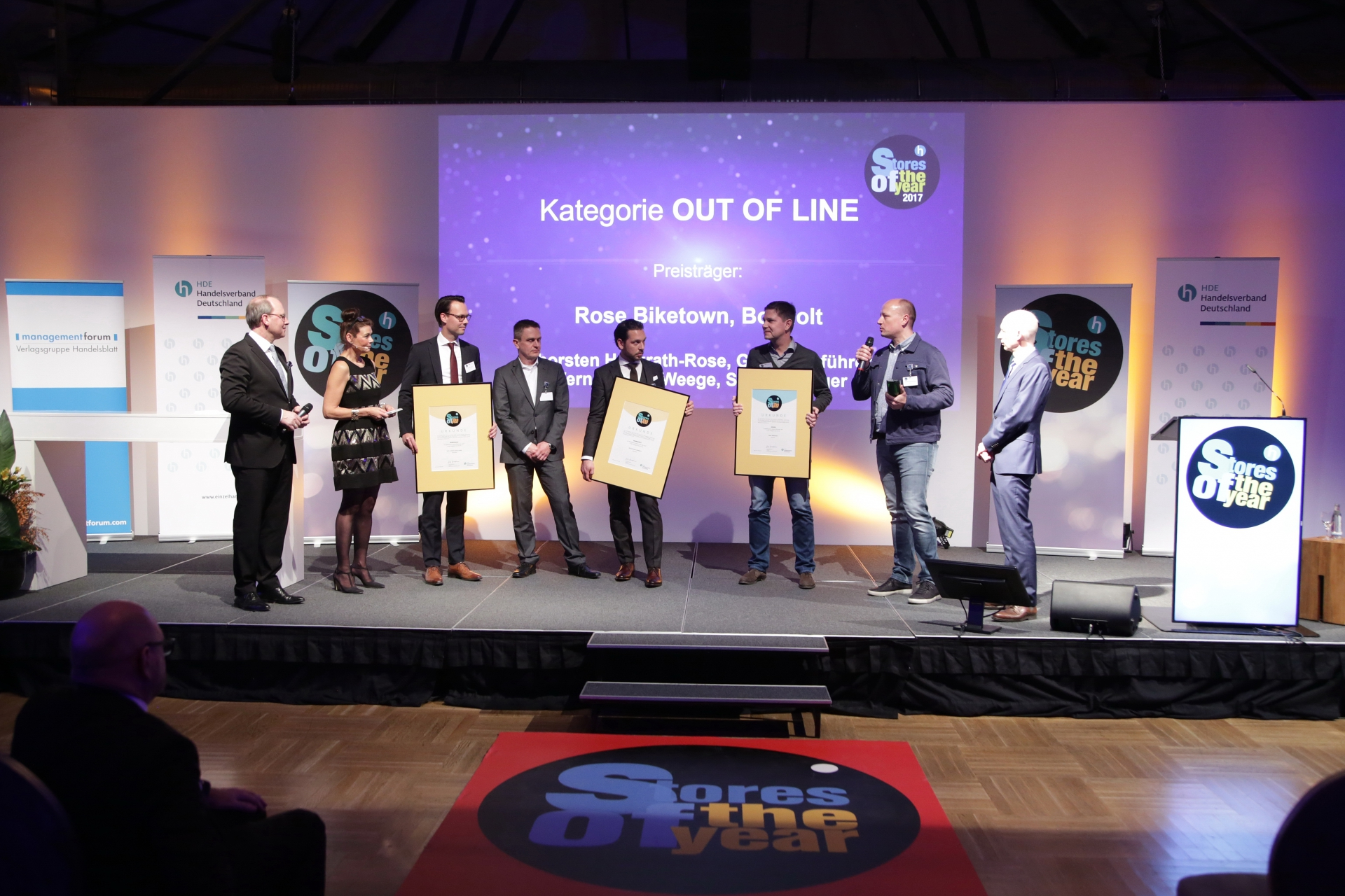 Rose Bikes - Store of the Year 2017