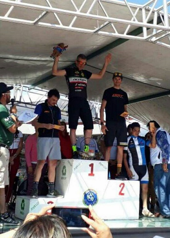 Il podio della gara messicana (foto organizzatori)