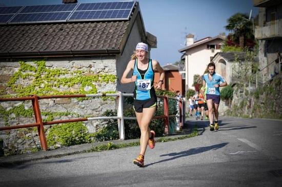 Alice Gaggi in azione al Colmen Trail (foto organizzatori)