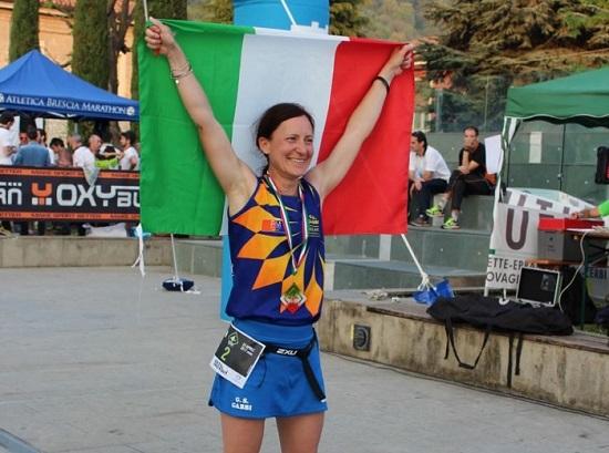 La vincitrice Lorena Brusamento (foto FB)