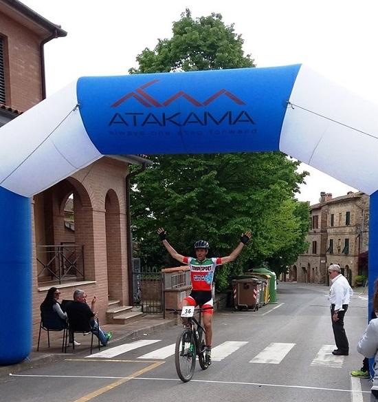 L'arrivo di Mirco Balducci (foto organizzatori)