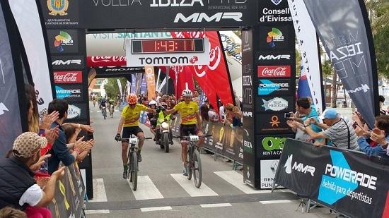 Pinto e Nissen primi a Ibiza (foto organizzatori)